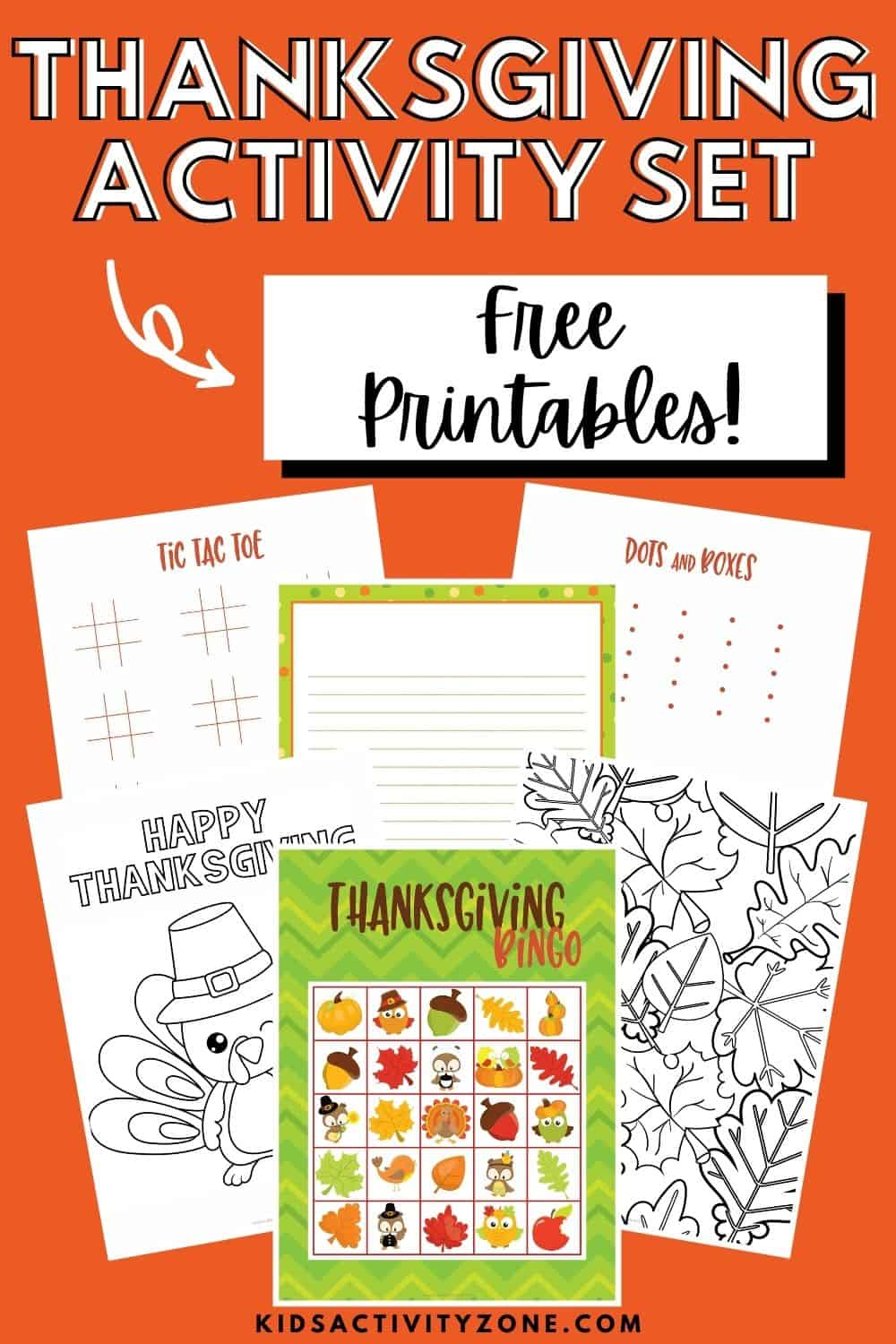 Free Thanksgiving Activities Printable Set is a great addition to any holiday. It has entertainment for every age. Some of the free printables include coloring pages, tic tac toe, Sudoku puzzles, Bingo and more! Grab it and print it out today.