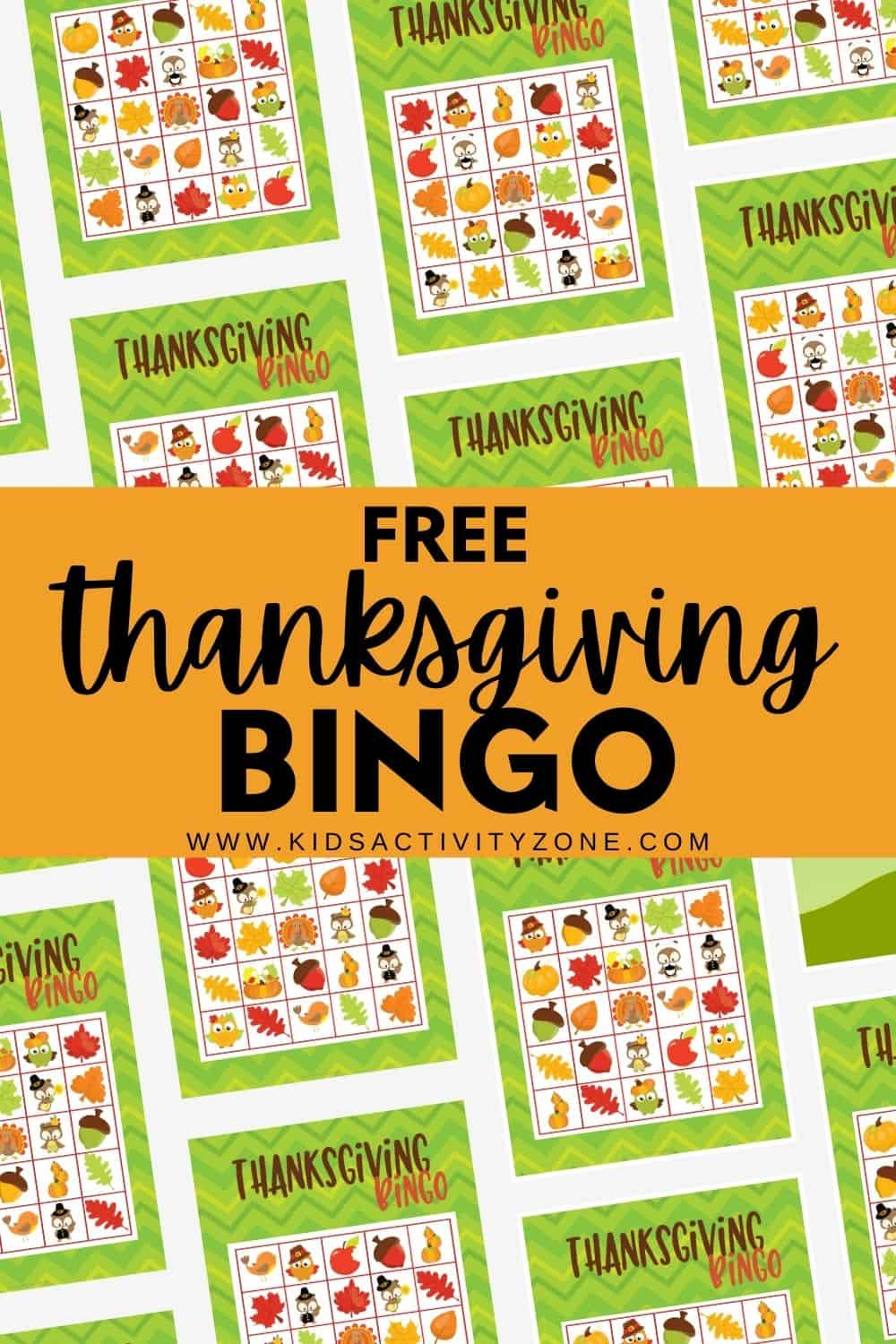 Grab our free Thanksgiving Bingo Cards and keep everyone entertained during the holidays this year! This is a great game for young and old. Also perfect for classrooms, parties, families, and more!