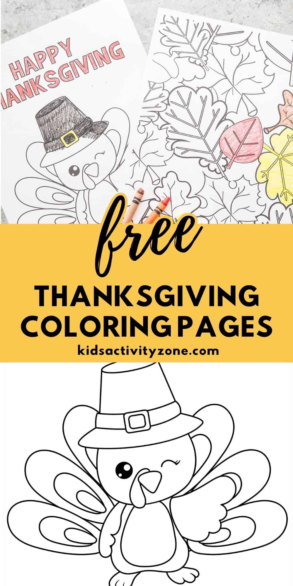 Free Thanksgiving Coloring Pages are the perfect addition to your parties and gatherings. They are the simplest activity. Just print and color!