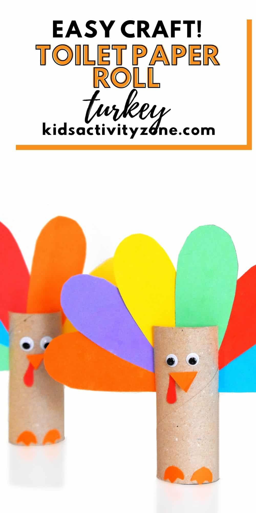 Toilet Paper Roll Thanksgiving Craft Pinterest Collage is an easy and fun Thanksgiving activity that young kids to can assist in. Nothing is more fun that using things around the house to make these cute little turkey crafts for Thanksgiving!