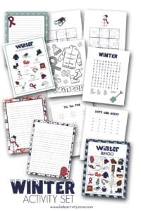 Printable Winter Activities Packet Main Image
