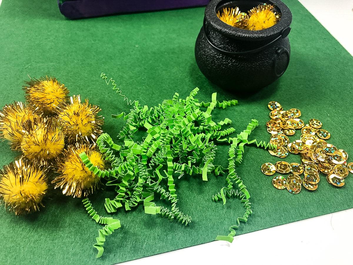 Decorations for leprechaun trap