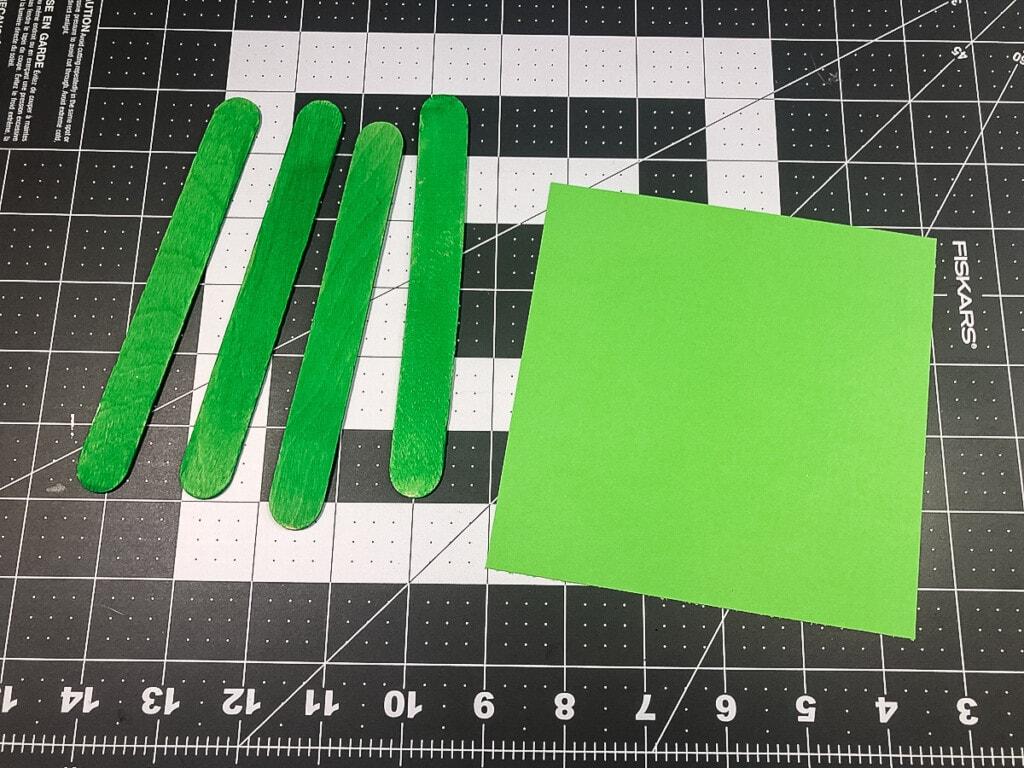 Supplies to make trap door for Leprechaun Trap