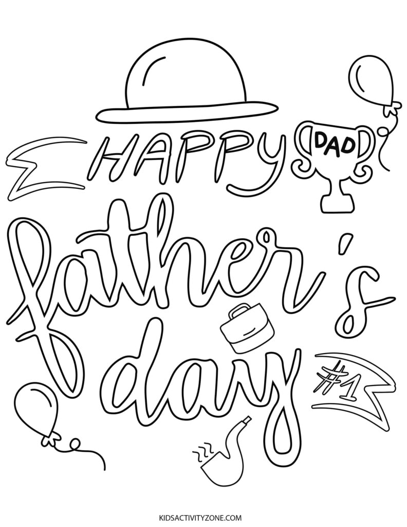 Happy Father's Day Printable