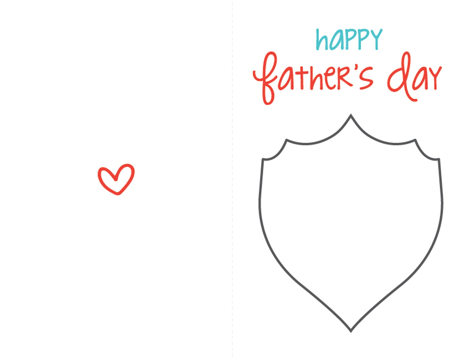 Printable Father's Day Card