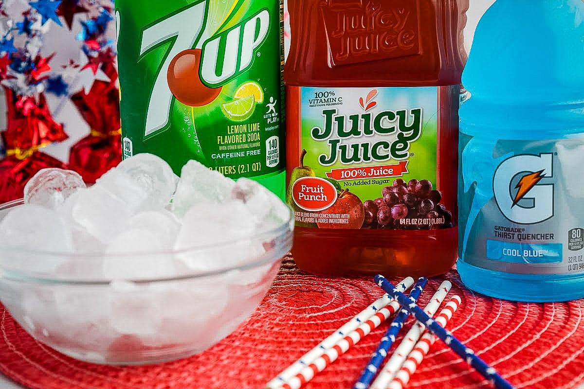 Patriotic Punch Ingredients
