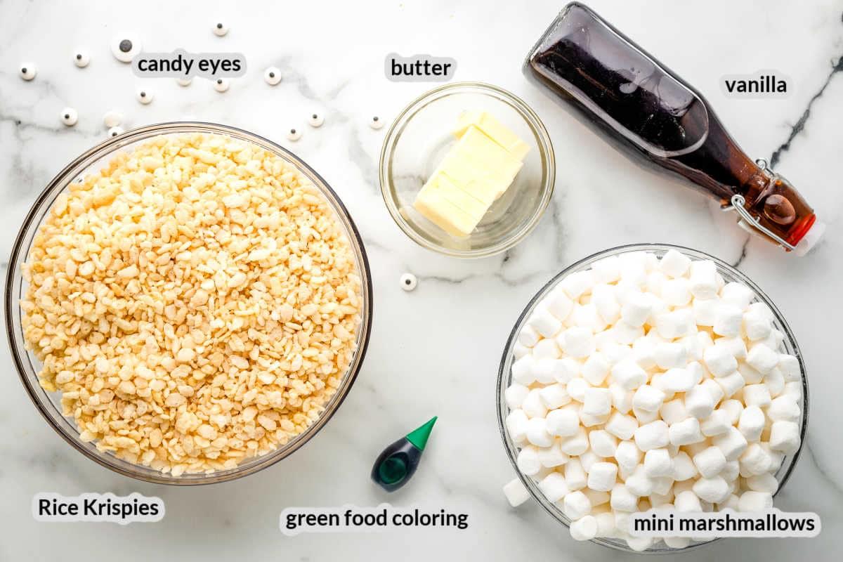 Monster Rice Krispie Treats Ingredients